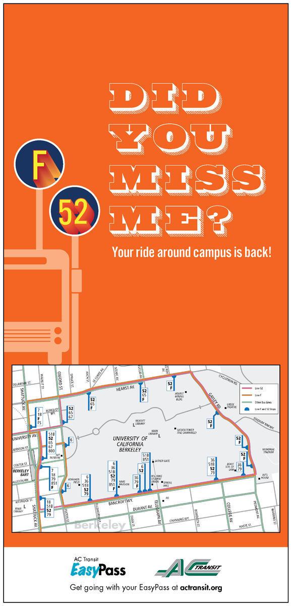 Ac Transit Student Classpass Parking And Transportation