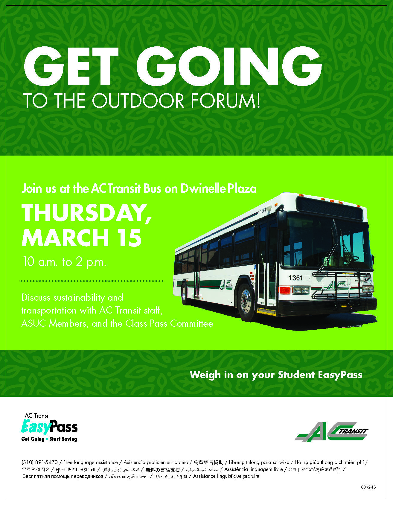 AC Transit 2018 Forum Picture