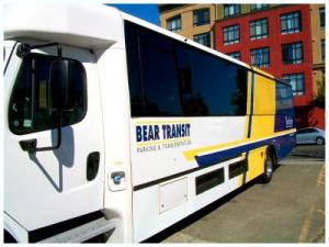 Bear Transit the Campus Shuttle