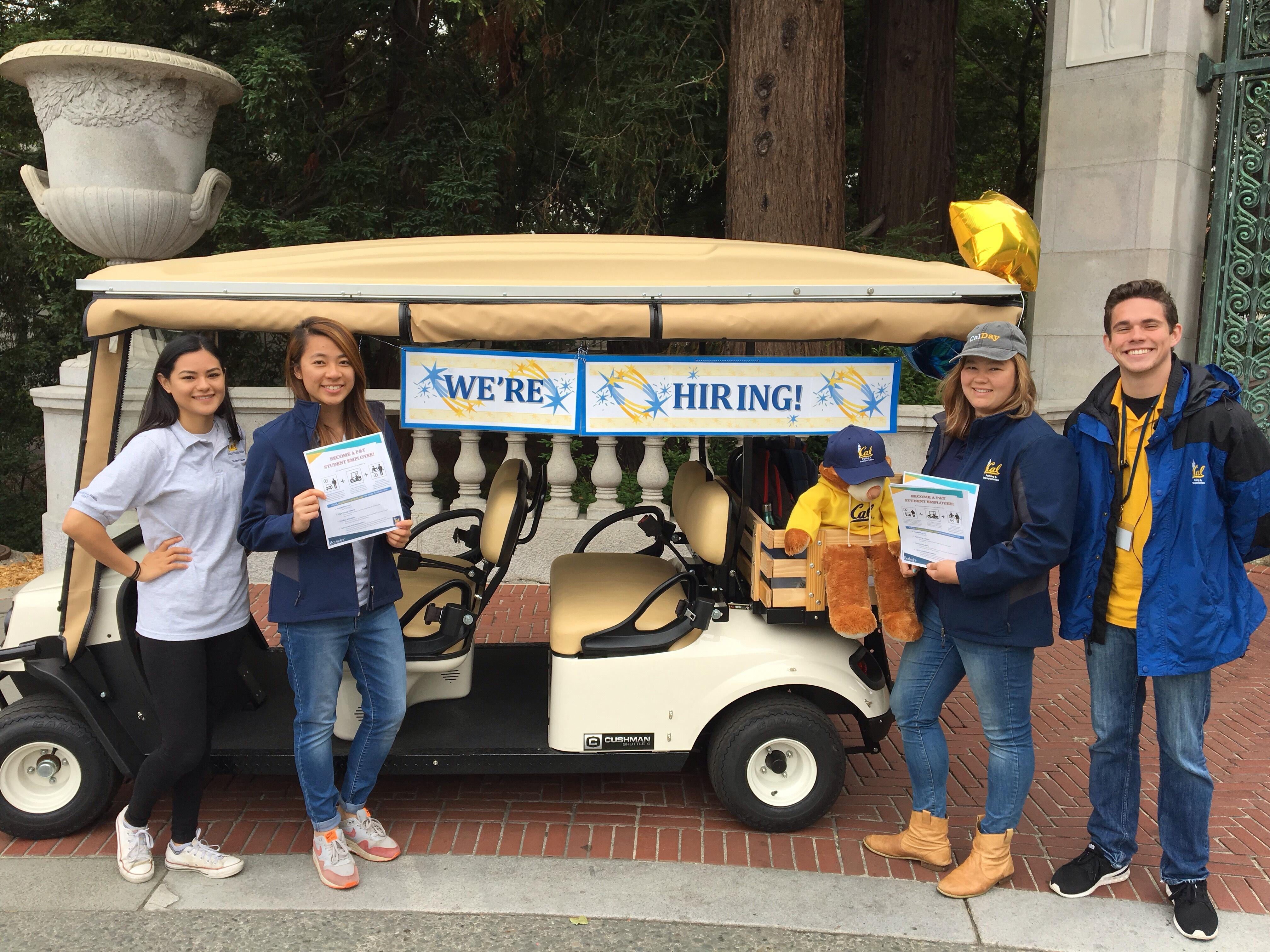 Student Employees UC Parking Transit